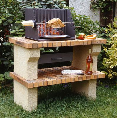 Offrez vous une pi ce suppl mentaire ciel ouvert dans votre jardin jardin - Coin barbecue jardin ...