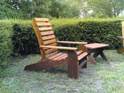 Chaises de jardin jardin mobilier - Fauteuil detente jardin ...