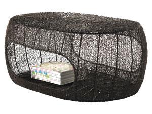 Table basse en fil de fer | Jardin Mobilier