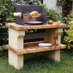 barbecue en brique pour jardin
