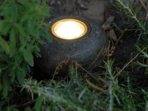spot projecteur jardin sol