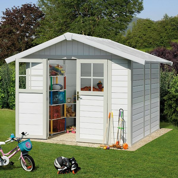 Abri en PVC trouvé sur www.triganostore.com