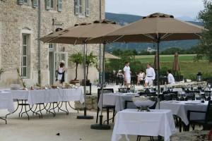 mobilier hotel champêtre jardin