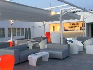 agencement terrasse hotel moderne sur mesure